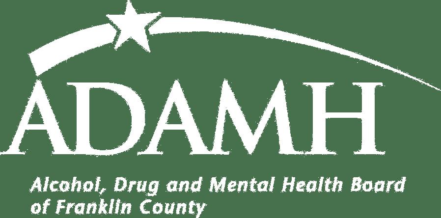 ADAMH Logo White Tranparent